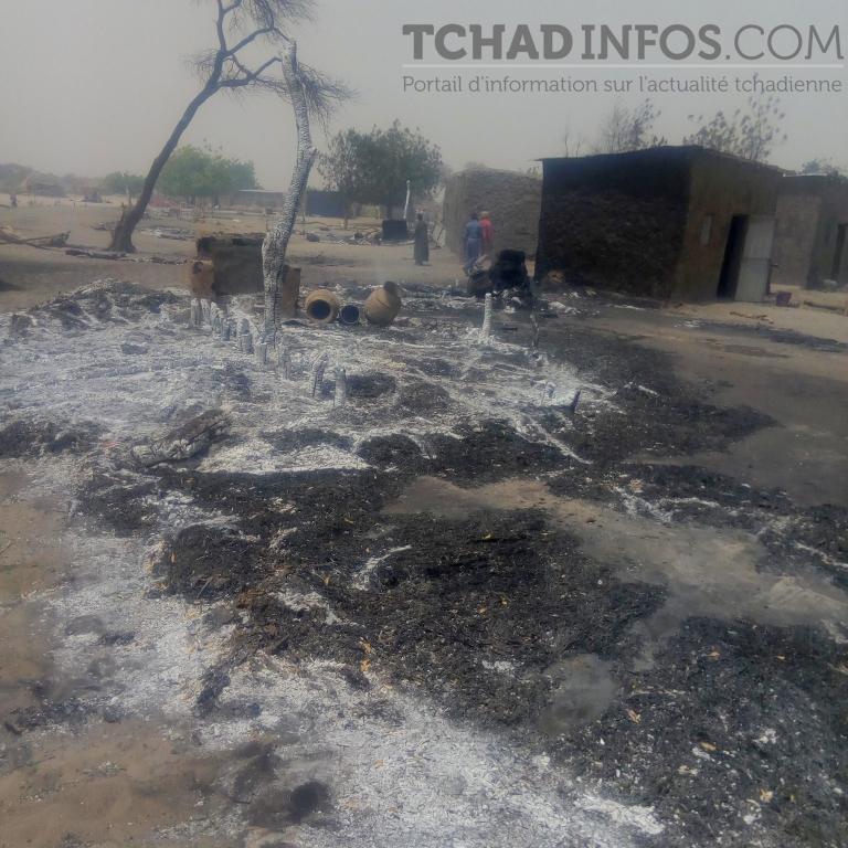Régions : un incendie a détruit partiellement le village d'Al-Miléssa, dans le Hadjar Lamis