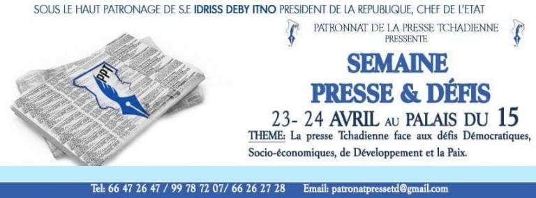 Tchad: la 1ère édition de la Semaine presse et défis est lancée