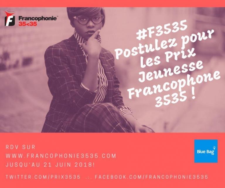 Jeunesse : La 3ème édition des Prix Jeunesse Francophone 3535 officiellement lancée
