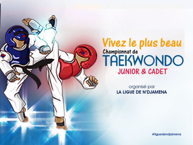 Sport : La Ligue de Taekwondo de N'Djamena lance le Championnat de combat Cadet & Junior