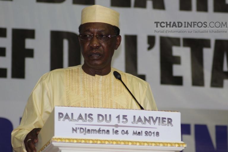 Productivité : Déby appelle les Tchadiens au travail