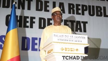 """""""Cette constitution qui vise exclusivement la cause et l'intérêt supérieur du Tchad"""" Idriss Déby Itno"""