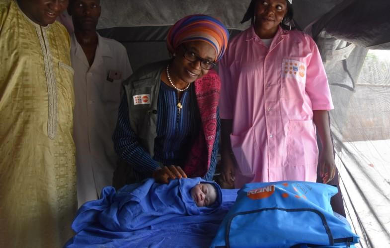 Tchad: la nouvelle représentante De l'UNFPA prend le pouls des activités dans le Lac