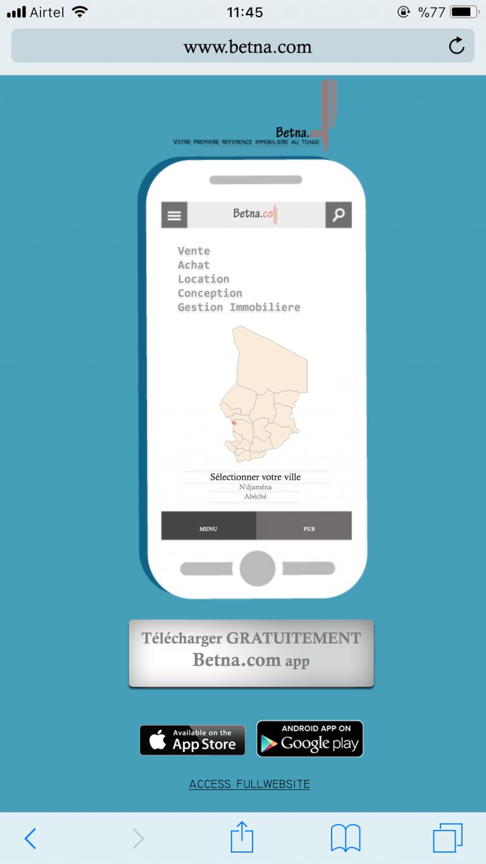 Technologie : Bientôt l'application Betna.com pour révolutionner le marché immobilier
