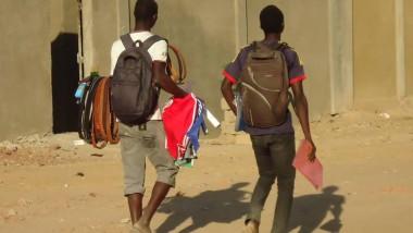 Tchad : rentrée scolaire, les élèves s'activent
