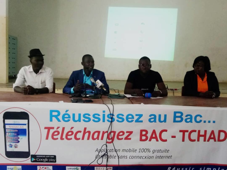 Education : la nouvelle version de l'application Bac Tchad déjà disponible