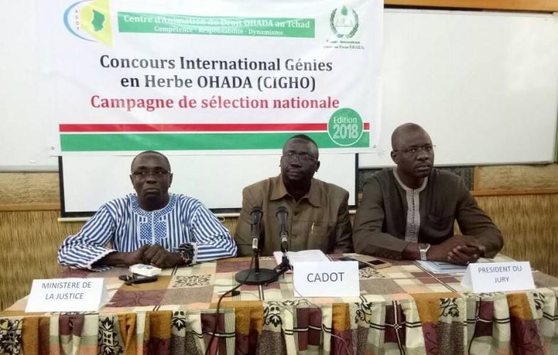 Tchad : lancement de la campagne de sélection nationale au concours international Génies en herbe OHADA