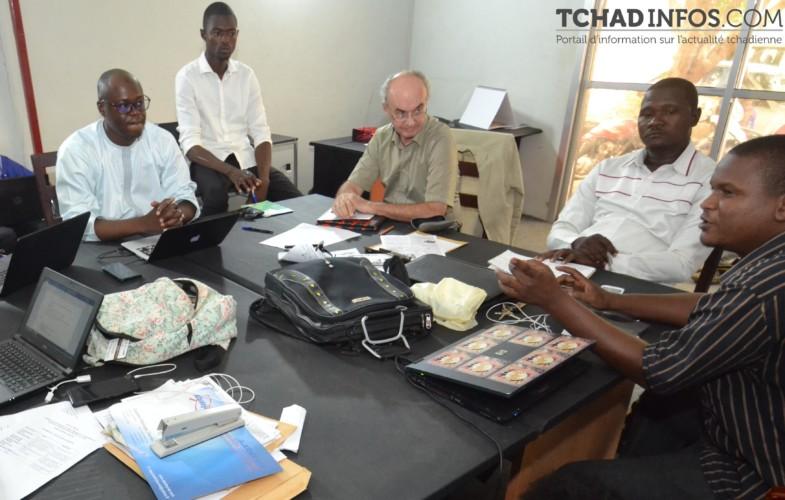 Médias : Tchadinfos reçoit la visite du 2e conseiller de l'Ambassade de France