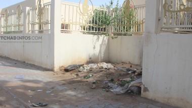 Société : les murs de l'Hôpital de la Mère et de l'Enfant transformés en lieu de besogne