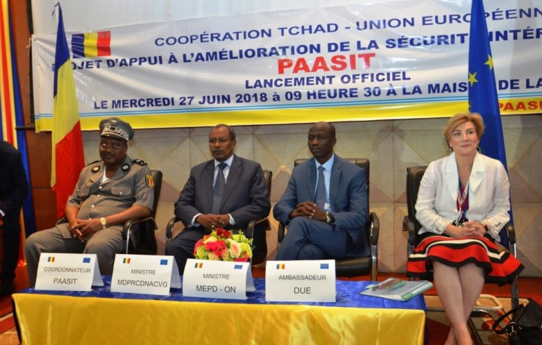 Tchad : Un projet de renforcement de sécurité intérieure est lancé