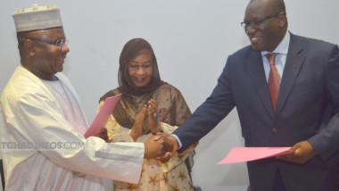 Infrastructures : Me Padaré passe la main  à Mahamat Abderaman Mouctar