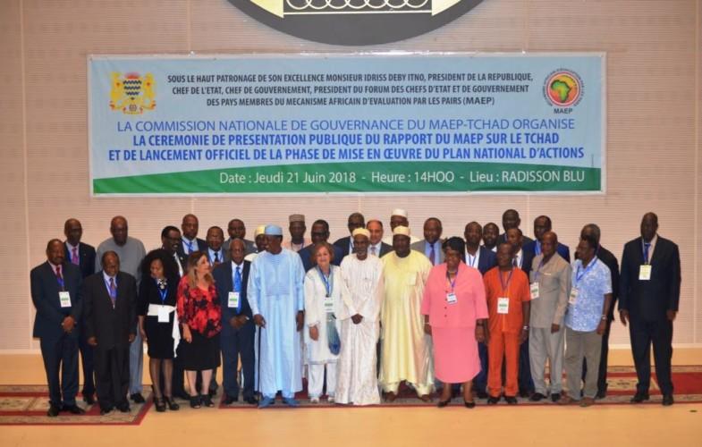 Tchad : le MAEP dévoile les forces et faiblesses du gouvernement