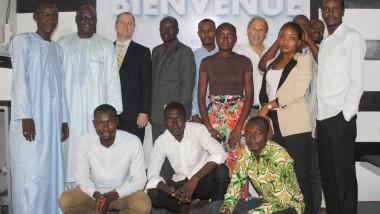 Le service culturel et de presse de l'ambassade des USA au Tchad rend visite à la rédaction de Tchadinfos.com