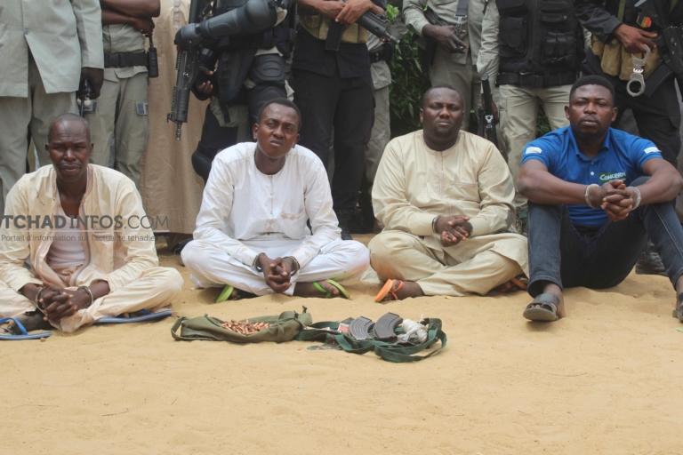 Tchad: la police a présenté à la presse les malfrats ayant assassiné Mme WANG