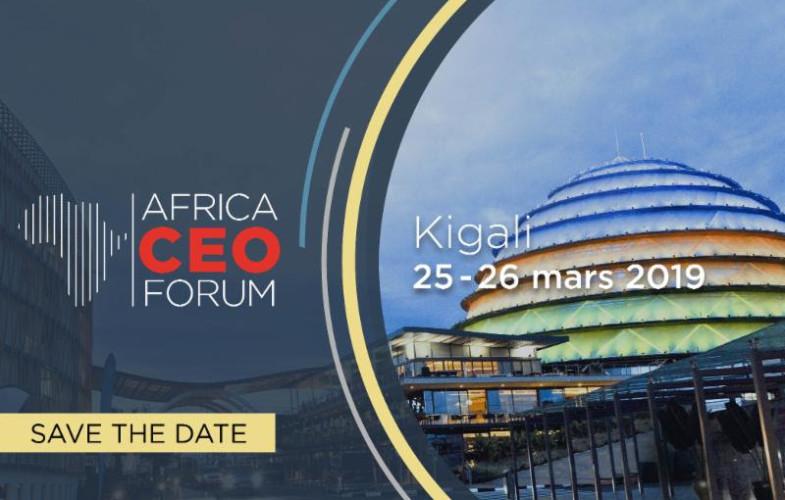 Afrique : Kigali accueillera la 7ème édition du Africa CEO Forum