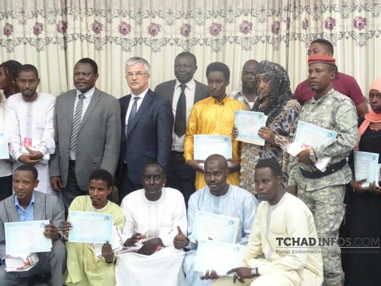 Education : le CALF de N'Djaména prime ses apprenants