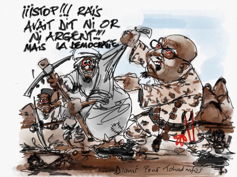 Tchad : Bachir va en guerre contre les orpailleurs