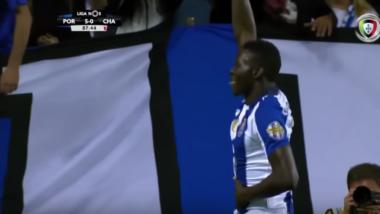 Football : Marius Mouandilmadji marque son premier but avec le FC Porto