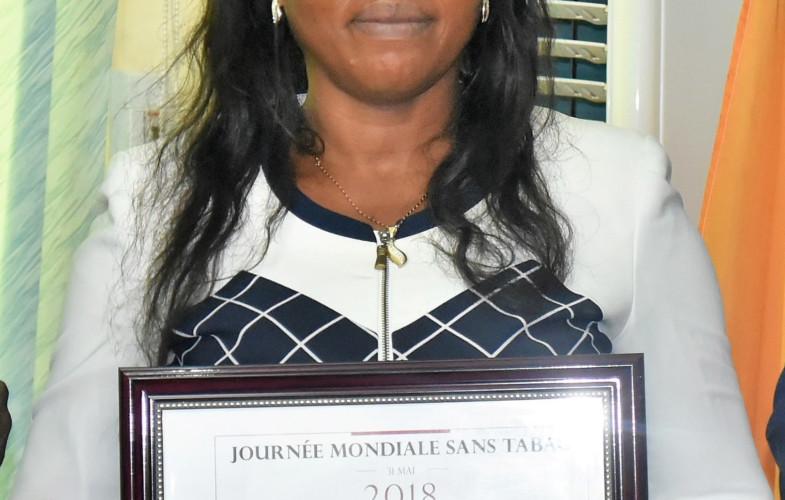 Portrait : Nénodji Mbairo, médaillée OMS pour son engagement contre le tabagisme
