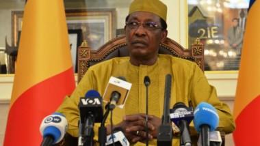 Fête de l'indépendance : le président Déby se prête aux questions des journalistes