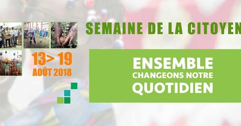 Société : la Semaine de la citoyenneté prévue du 13 au 19 août 2018
