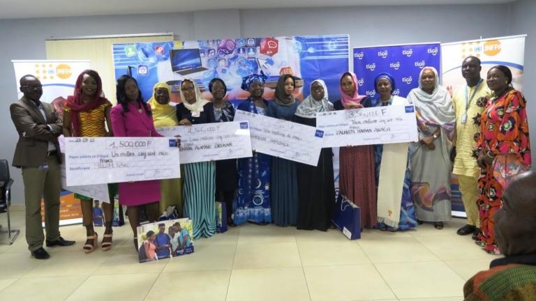 Kelou Digital Challenge : Millicom Tchad prime cinq jeunes femmes entrepreneures