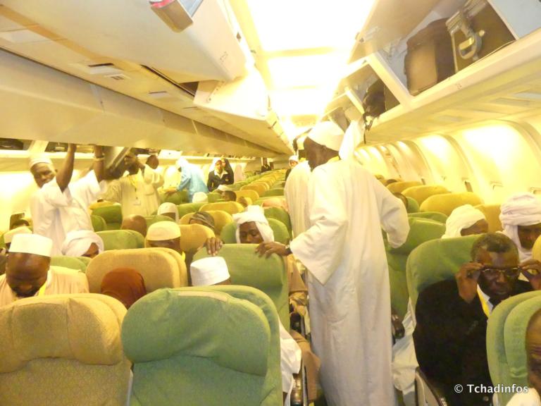 Le dernier vol du Hadj 2018 a quitté N'Djamena pour la Mecque