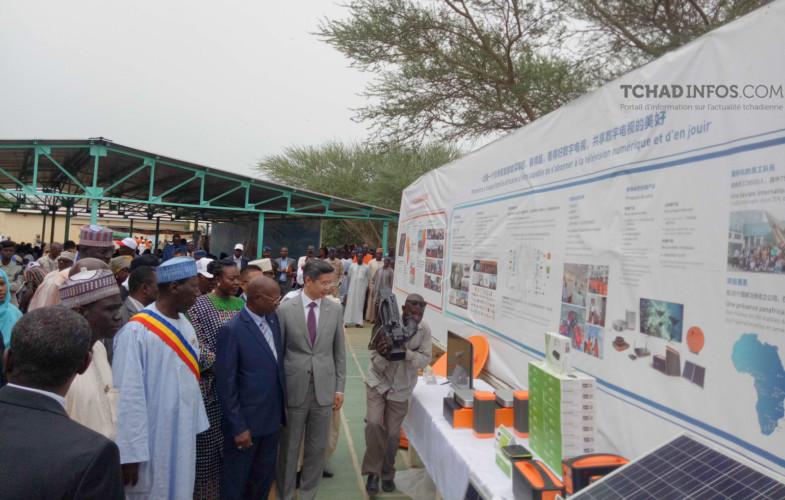 Tchad : le projet de desserte de 200 villages par télévision satellite officiellement lancé
