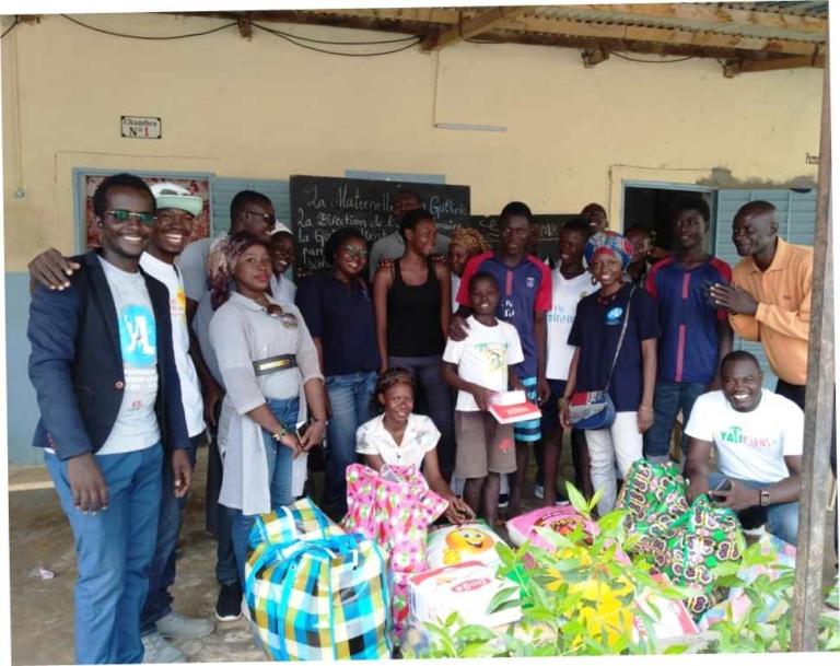 Société : YALI Chad vient en aide aux orphelins de la Fondation Dieu Bénit