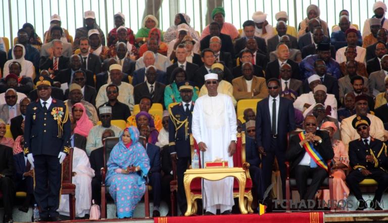 Photo interactive – 11 août 2018 : qui étaient autour du président Idriss Déby Itno ?