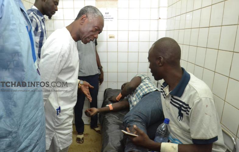 Bagarre à l'UNET, le ministre de l'enseignement supérieur au chevet des blessés