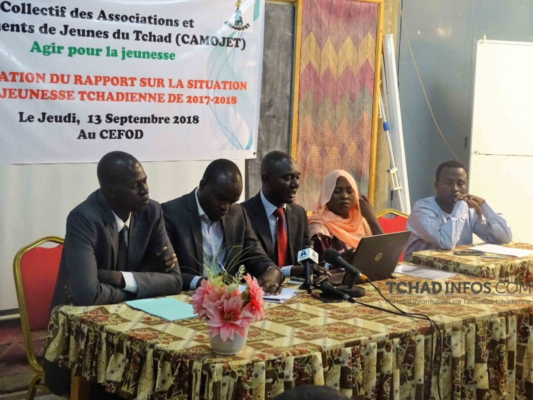 Tchad: le CAMOJET soutient  la marche de Wakit Tama du 19 mai