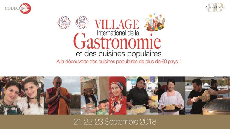 Le Tchad représenté à la 3e édition du Village international de la gastronomie à Paris