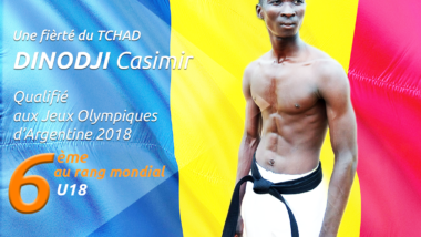 Portrait : Djinodji Casimir, l'étoile montante du taekwondo