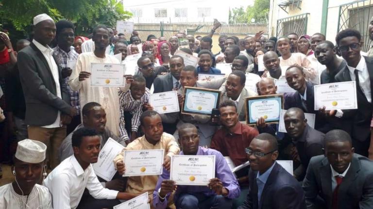 Education : Al Mouna English Club forme gratuitement 80 jeunes en anglais