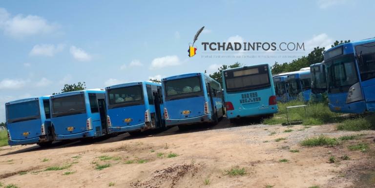 Les bus de transport des étudiants sont aux arrêts