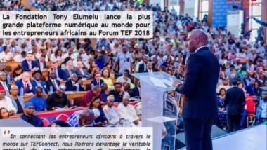 Afrique : la TEF  lance la plus grande plateforme numérique au monde pour les entrepreneurs africains