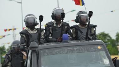 Grève dans le secteur public : une forte présence policière remarquée à N'Djamena