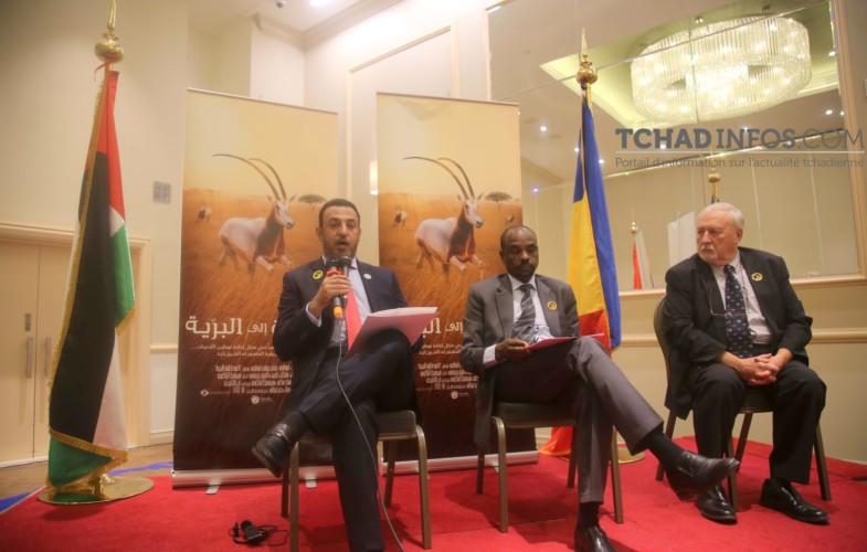 """Cérémonie de présentation du film """"Retour à la vie sauvage"""" sur la réintroduction de l'Oryx Algazelle au Tchad"""