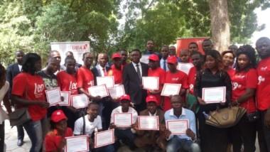 Tchad : UBA atteste le bénévolat de 125 jeunes