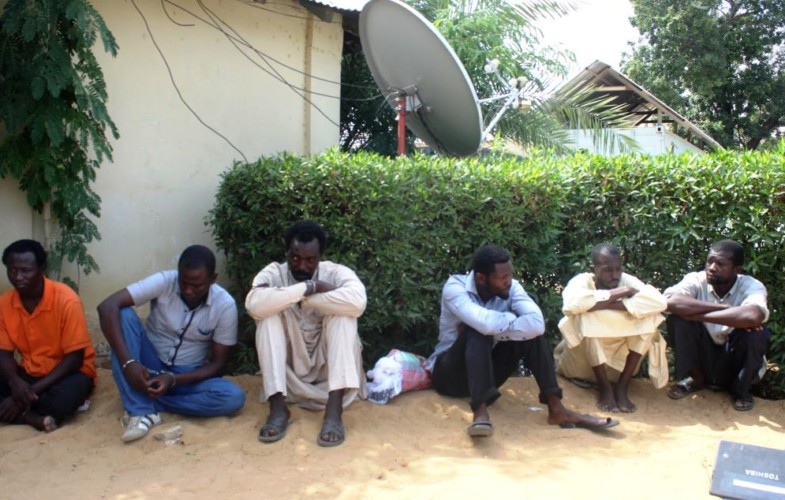 Tchad : des présumés malfrats appréhendés et présentés à la presse