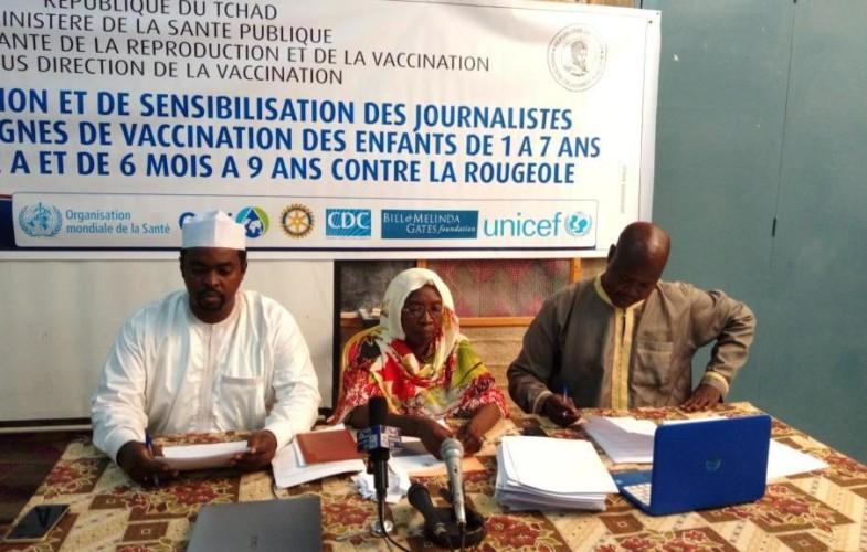 Santé : le ministère de la santé publique sensibilise les journalistes sur la méningite A et la rougeole