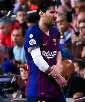 Sport : blessé au bras droit, Lionel Messi sera absent du terrain pour trois semaines