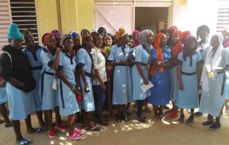 Société : les filles du lycée Adventiste initient leurs condisciples à la culture entrepreneuriale