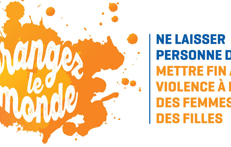 Violences faites aux femmes : le monde se drape d'Orange