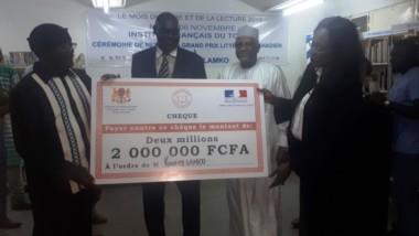 Culture : le grand prix littéraire tchadien décerné à l'écrivain Koulsy Lamko