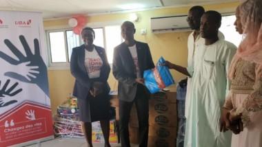 Message : La Fondation UBA vole au secours des enfants malnutris