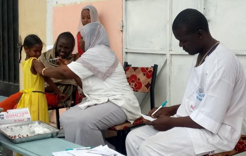 Santé : une campagne de vaccination contre la méningite A et la rougeole en cours dans 11 provinces du Tchad