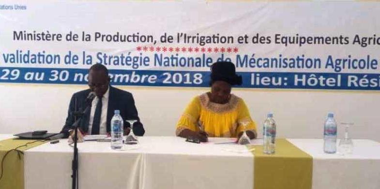 Développement du secteur agricole : le Tchad se tourne vers la mécanisation