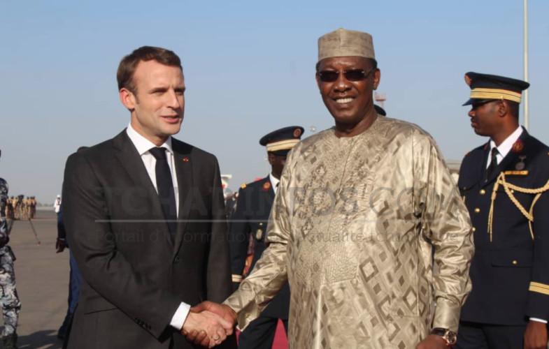 Tchad : Deby remercie la France pour son appui militaire aérien